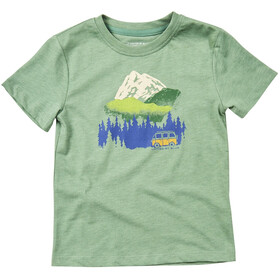 United By Blue Get Away Ride - T-shirt manches courtes Enfant - vert